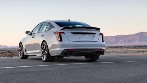 Hello Blackwing, goodbye gas: Cadillac's new super sedan faces down electric future