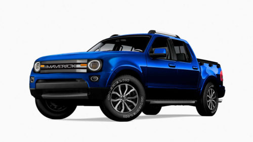2022 Ford Maverick: This Is How It Could Look