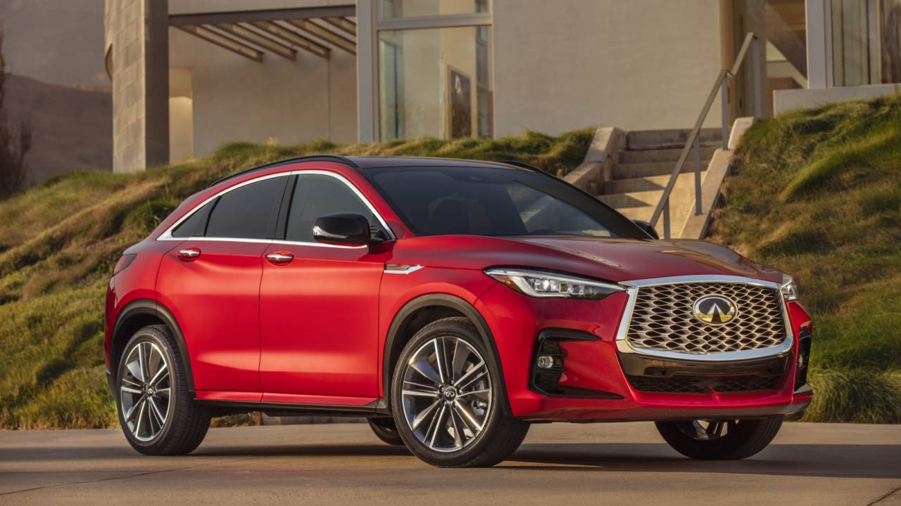 2022 Infiniti QX55 pricing revealed for striking crossover-coupe