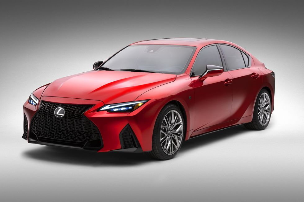 472-HP 2022 Lexus IS500 F Sport Brings the 5.0L V-8 Back to the IS