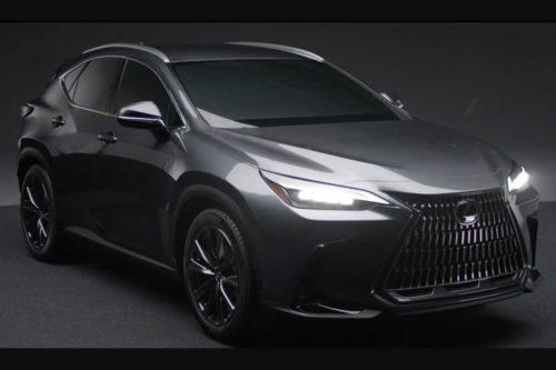 All-new Lexus NX leaked