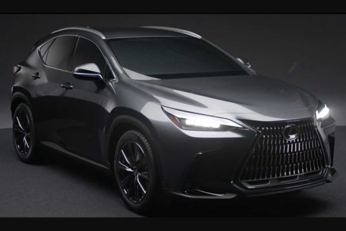 All-new Lexus NX leaked