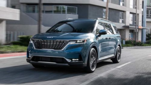 2022 Kia Carnival ditches Sedona in style with upscale 3-row interior