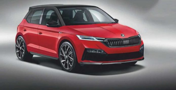 2021 Skoda Fabia Teased And It's As Big As The Volkswagen Golf Mk4