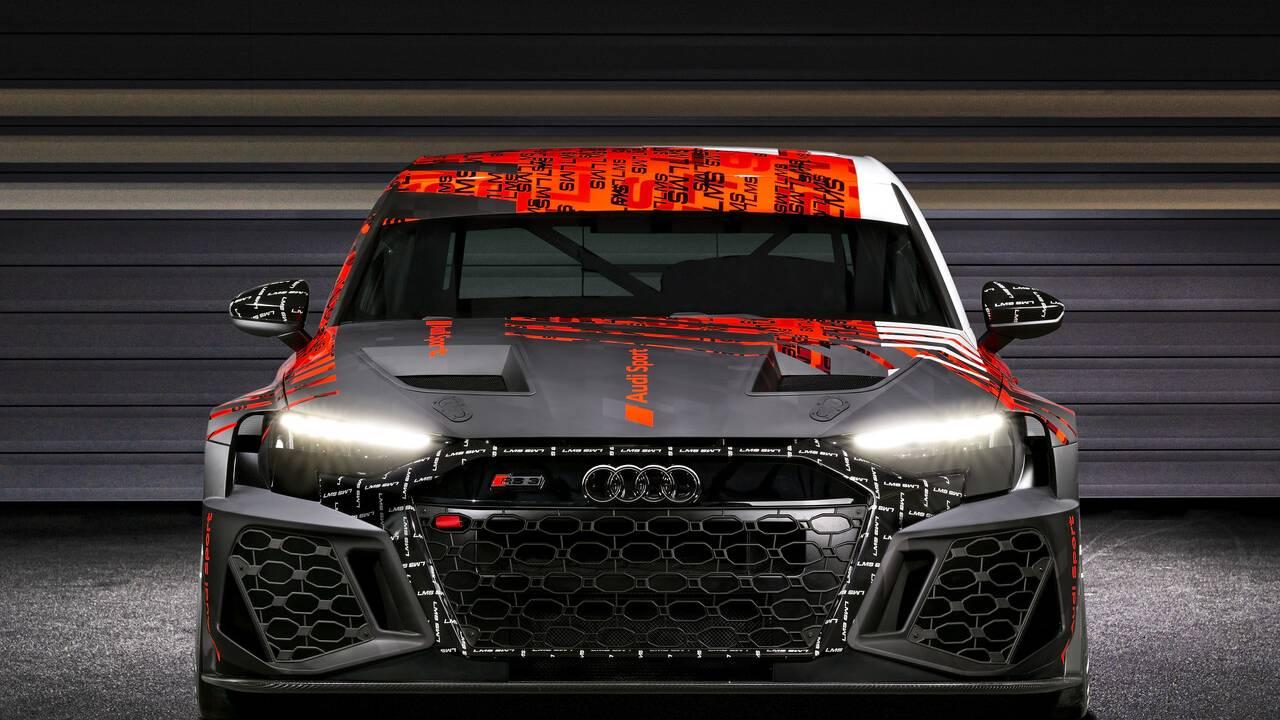 2021 Audi RS3 LMS previews the next-gen RS3 sedan