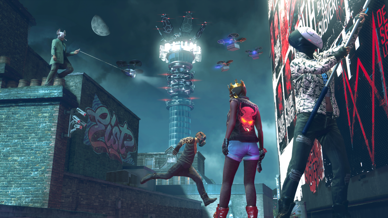 Watch Dogs Legion finally gets its online mode next month, and it's completely free