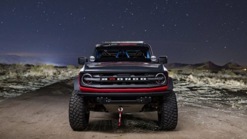 Ford Performance unveils Bronco 4600 racing truck for the 2021 Baja 1000
