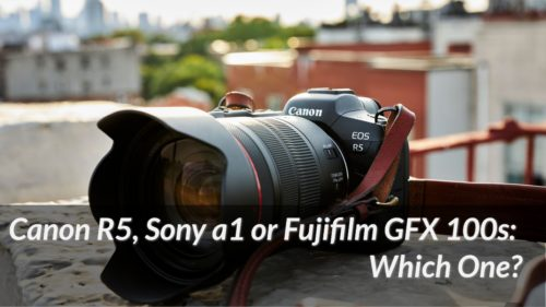 Canon EOS R5, Sony A1, or Fujifilm GFX100s? A Battle of the Best