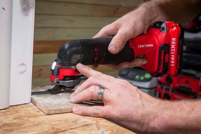 CRAFTSMAN V20 CORDLESS OSCILLATING MULTI-TOOL REVIEW