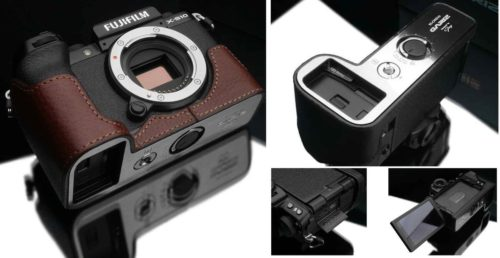Fujifilm X-S10 Gariz Leather Camera Cases