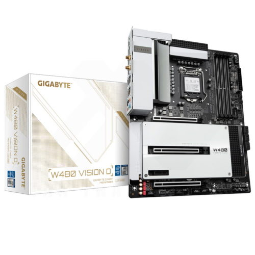 Gigabyte W480 Vision D Review