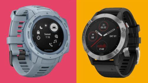 Garmin Instinct vs Garmin Fenix 6: choose the right sports watch for you
