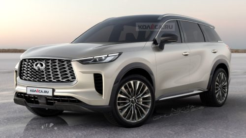2022 Infiniti QX60 Loses Camouflage In Unofficial Rendering