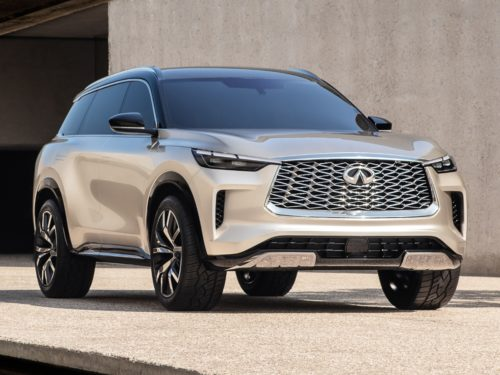 2022 Infiniti QX60 First Look