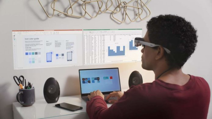 Qualcomm's new XR1 AR Smart Viewer design can tether to smartphones and PCs