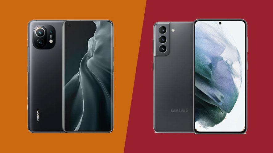 Xiaomi Mi 11 vs Samsung Galaxy S21: comparing two top flagship phones