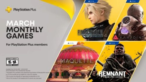 Final Fantasy VII Remake leads a huge March for PlayStation Plus