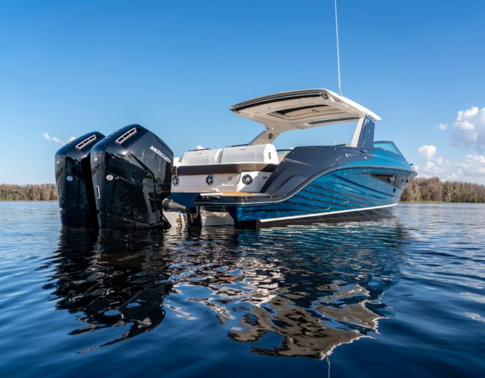 Most powerful outboard? Mercury's 600hp V12 monster