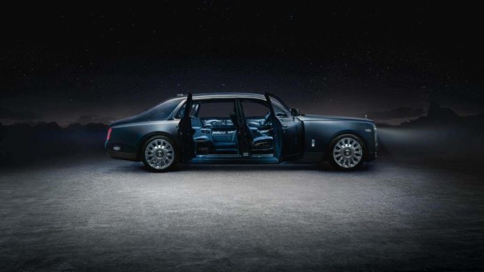 Rolls Royce Phantom Tempus Collection is a bedazzling tribute to parts unknown