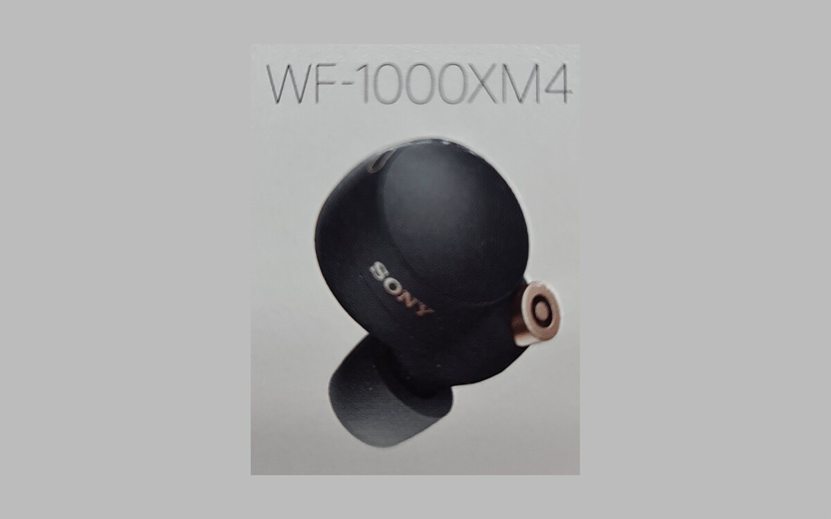 Sony WF-1000XM4 leak: the first look at Sony's next wireless earbuds?