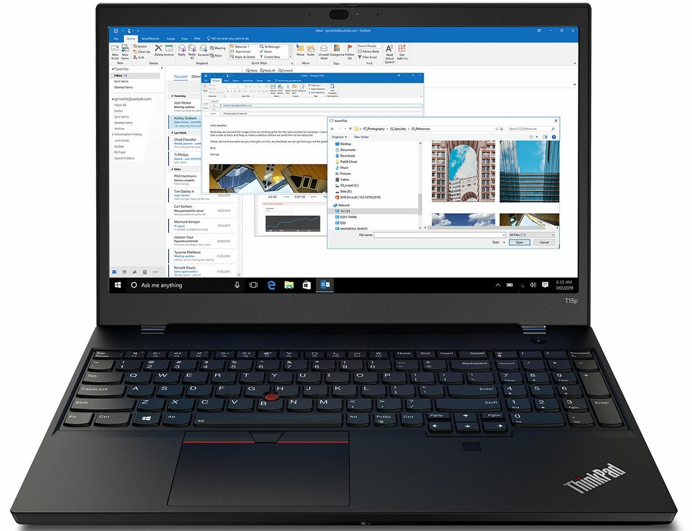 Lenovo ThinkPad T15p Gen 1 laptop review: Powerful but inefficient