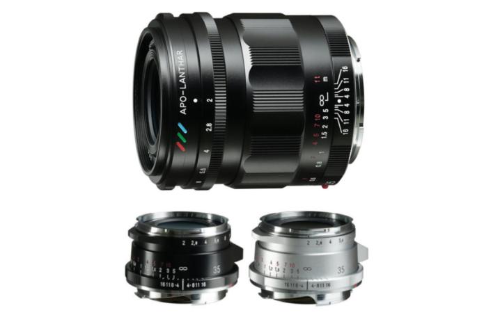 Cosina Announced Three New Voigtlander 35mm f/2 Lenses