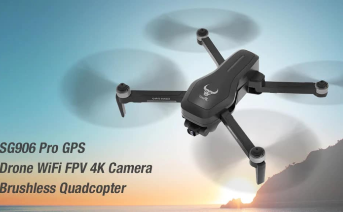 ZLRC SG906 PRO 4K Camera RC Drone Review