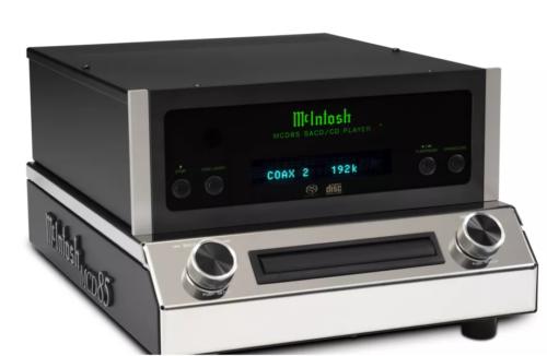 McIntosh's MCD85 SACD/CD player boasts hi-res USB connectivity
