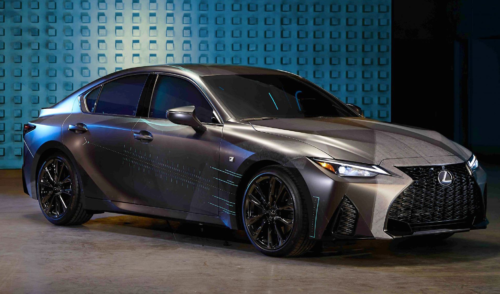 Twitch Viewers Turn a 2021 Lexus IS350 F Sport into a Gaming PC