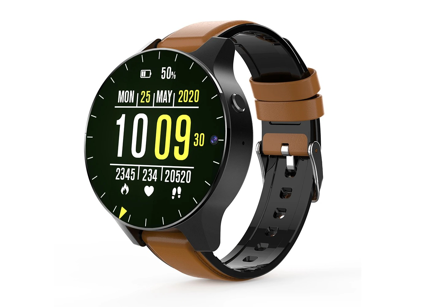 Rollme's latest smartwatch boasts 4G/LTE, a bezel-free display and a relatively massive 1,600mAh battery