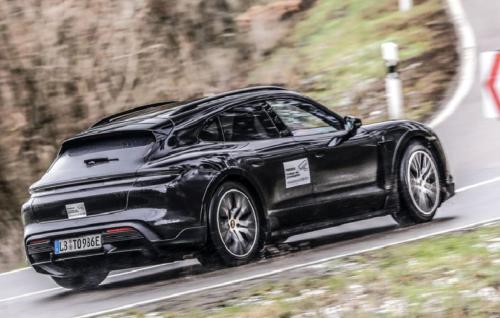 Porsche Confirms Taycan Cross Turismo Wagon Coming Soon