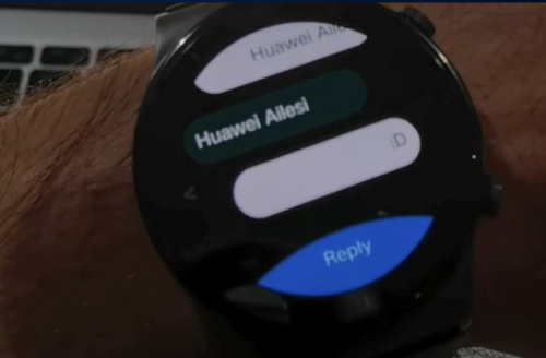 New app lets you reply to SMS messages from your Huawei Watch GT 2 Pro