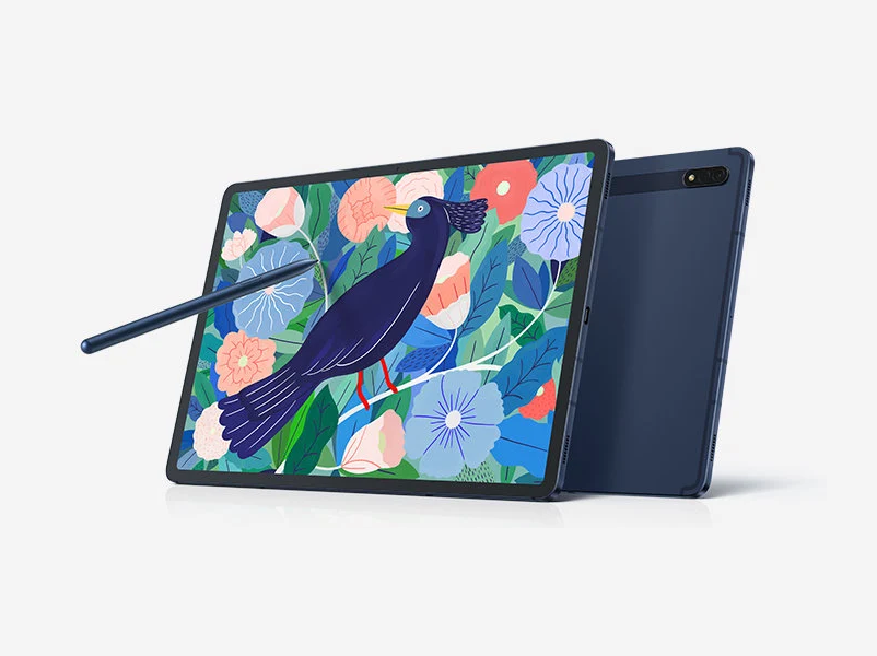 Samsung Galaxy Tab S7 and S7+ are Coming In Navy Blue Color