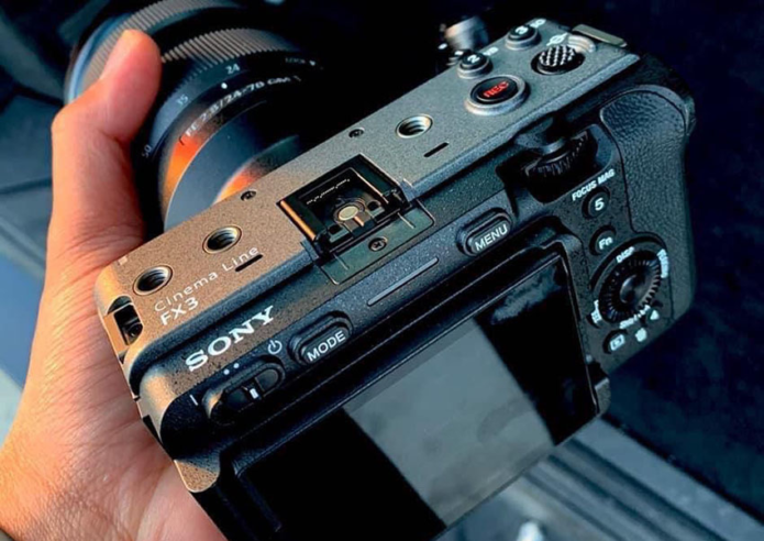 More Sony FX3 images ahead of the Announcement