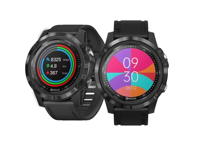 Zeblaze Vibe 3S HD: An affordable smartwatch that is a blatant Garmin Fenix 6 Pro rip off