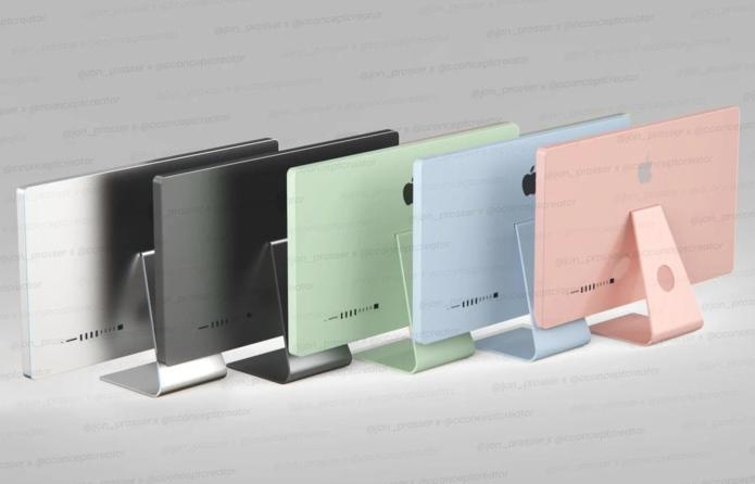iMac 2021 leak reveals five new colors — and there's a new Mac Pro mini
