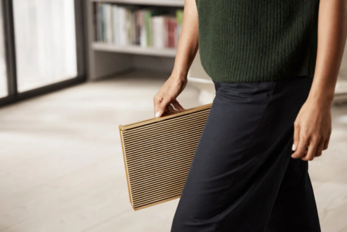 Bang and Olufsen's Beosound Level is a portable home speaker built to last