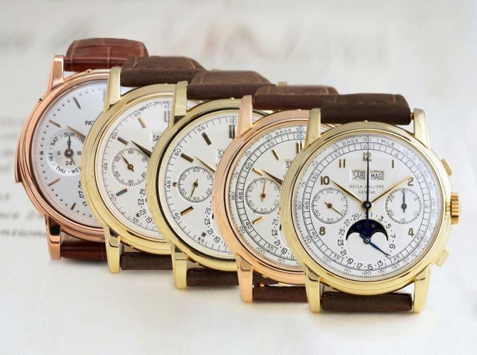 Bid on a Full Set of Super Rare Patek Philippe Chronographs