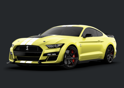 2021 Ford Mustang Shelby GT500 Adds Carbon Fiber, Flashy Colors