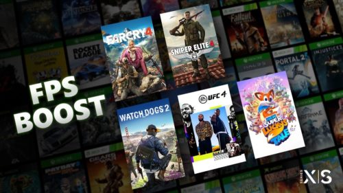 FPS Boost uses Direct3D tweaks to deliver up to 4x higher framerates for the Xbox Series S and Xbox Series X