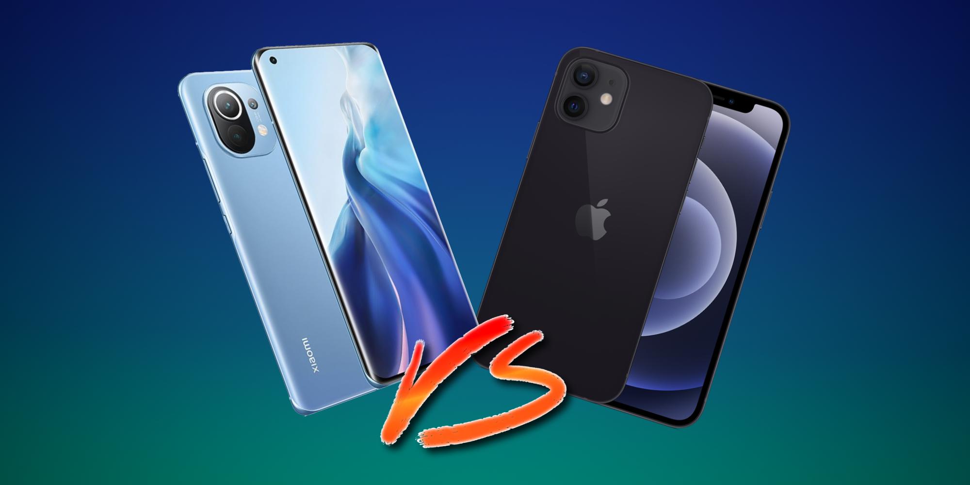 Xiaomi Mi 11 vs iPhone 12: can the underdog gain the upper hand?