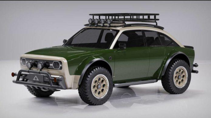 Alpha JAX CUV is a fantastic looking rugged EV