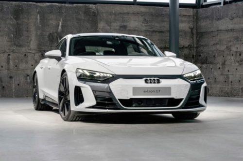 Audi e-tron GT leaked
