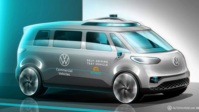 VW Aims to Have Autonomous ID.Buzz Vans for Commercial Use by 2025