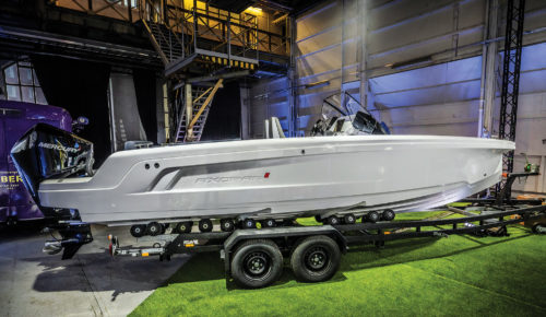 Axopar 22 Spyder first pictures: Trailable speedster packs in big boat features