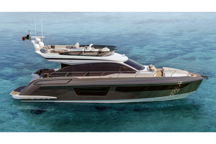 Azimut 53 first look: New mid-range model gets slick Mancini styling and IPS