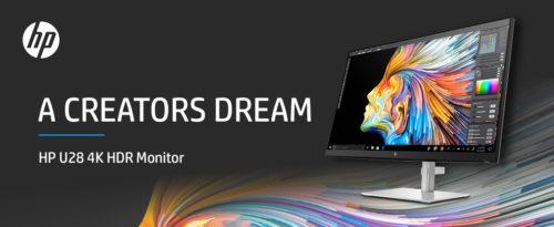 HP U28 4K HDR Monitor Review