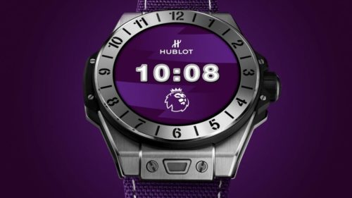 Hublot Big Bang e Premier League brings Wear OS to football