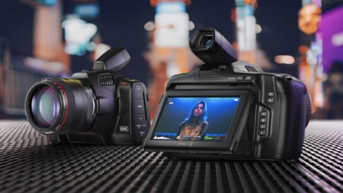 Blackmagic Design Pocket Cinema Camera 6K Pro : Super 35 camera w/ Tilting screen & Built-in ND