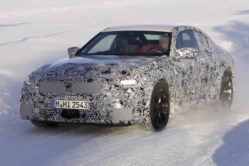 SPY PICS: Hot new BMW M2 hits snow